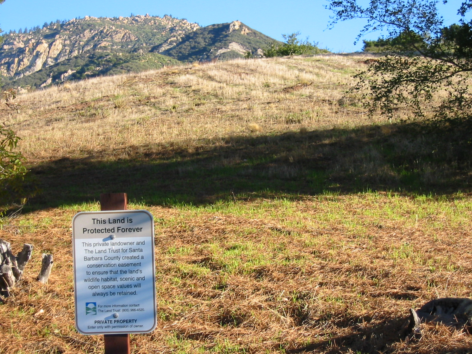 Mission Canyon Watershed