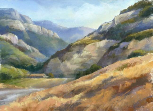Guillermo Canyon 12x17 pastel_Chapman