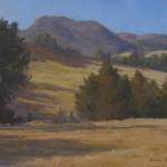 Ann Sanders Figueroa Mountain pastel $750