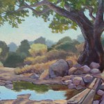 Kerri Hedden Bear Creek Crossing oil $625