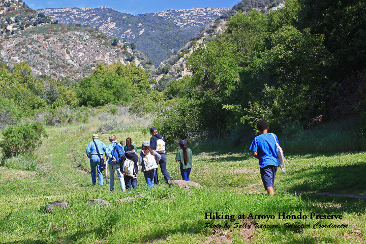 Arroyo Hondo hike with kids x