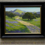 In Oak Shadows, Midland Trails (SOLD) by Allison Horst  , oil 18x24, $1475