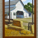 The Sedgwick Barn by John Iwerks, oil 18x24, $1600