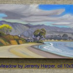 Spring Meadow by Jeremy Harper, oil 10x30, $950