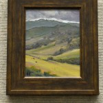 Chorro Ranch Drizzle by William Mitchell, oil  8x10, $450