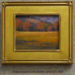 Sedgwick Sunset by Ann Sanders, pastel 8x10, $600