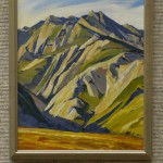 Gaviota Ridge by Larry Iwerks, oil 14x11, $1200