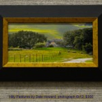 Hilly Pastures by Dale Howard, photograph 6x12, $300