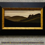 Twilight Hills   (SOLD) by Dale Howard, photograph 6x12, $300