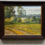 Yellow Shed   (SOLD) by Meredith Brooks Abbott, oil 16x20, $2000