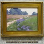 Carpinteria Bluff Path by Ann Sanders, pastel 12x16, $900
