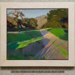 Last Sun, Midland by Marcia Burtt, acrylic 20x20, $2600