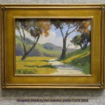 Sedgwick Shade by Ann Sanders, pastel 12x16, $900