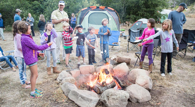 Fun at the Father's Day Campout