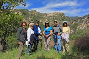 Botanic Garden Docents on the Outlaw Trail x