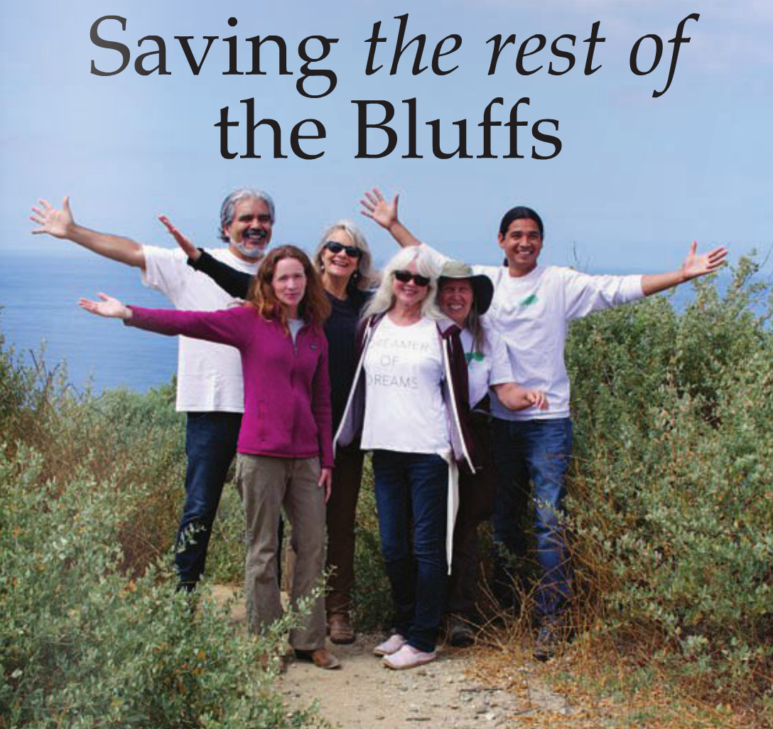 Saving The Rest Of The Bluffs