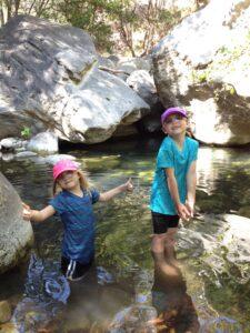 girls_AHP_creek