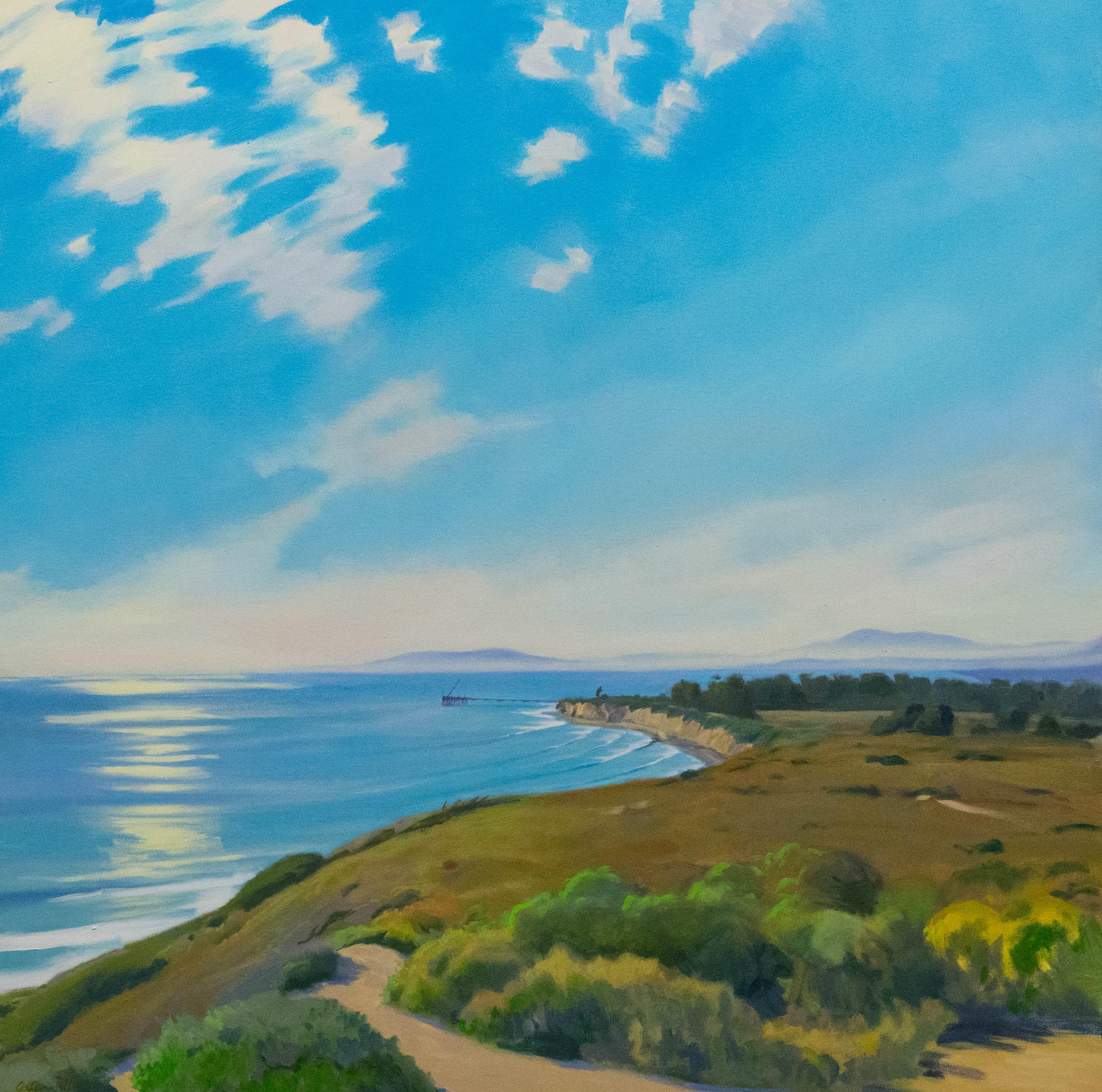 Ray Hunter View of Santa Creuz island