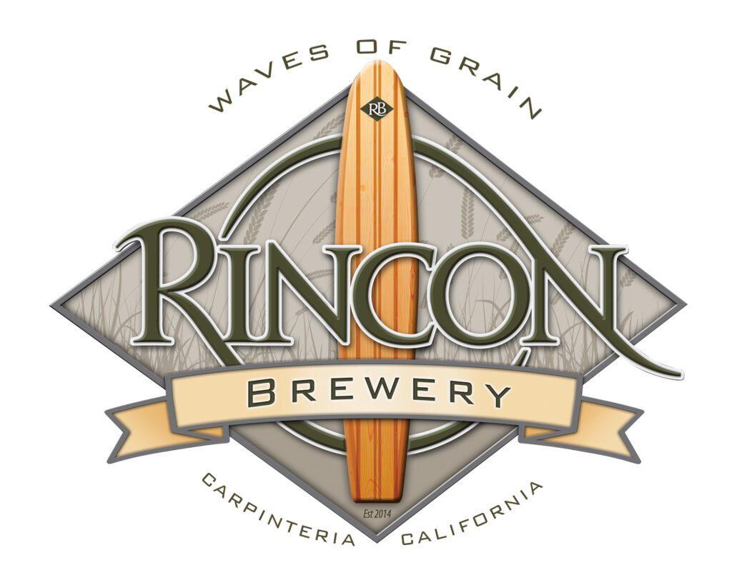 Rincon Logo w surfboard
