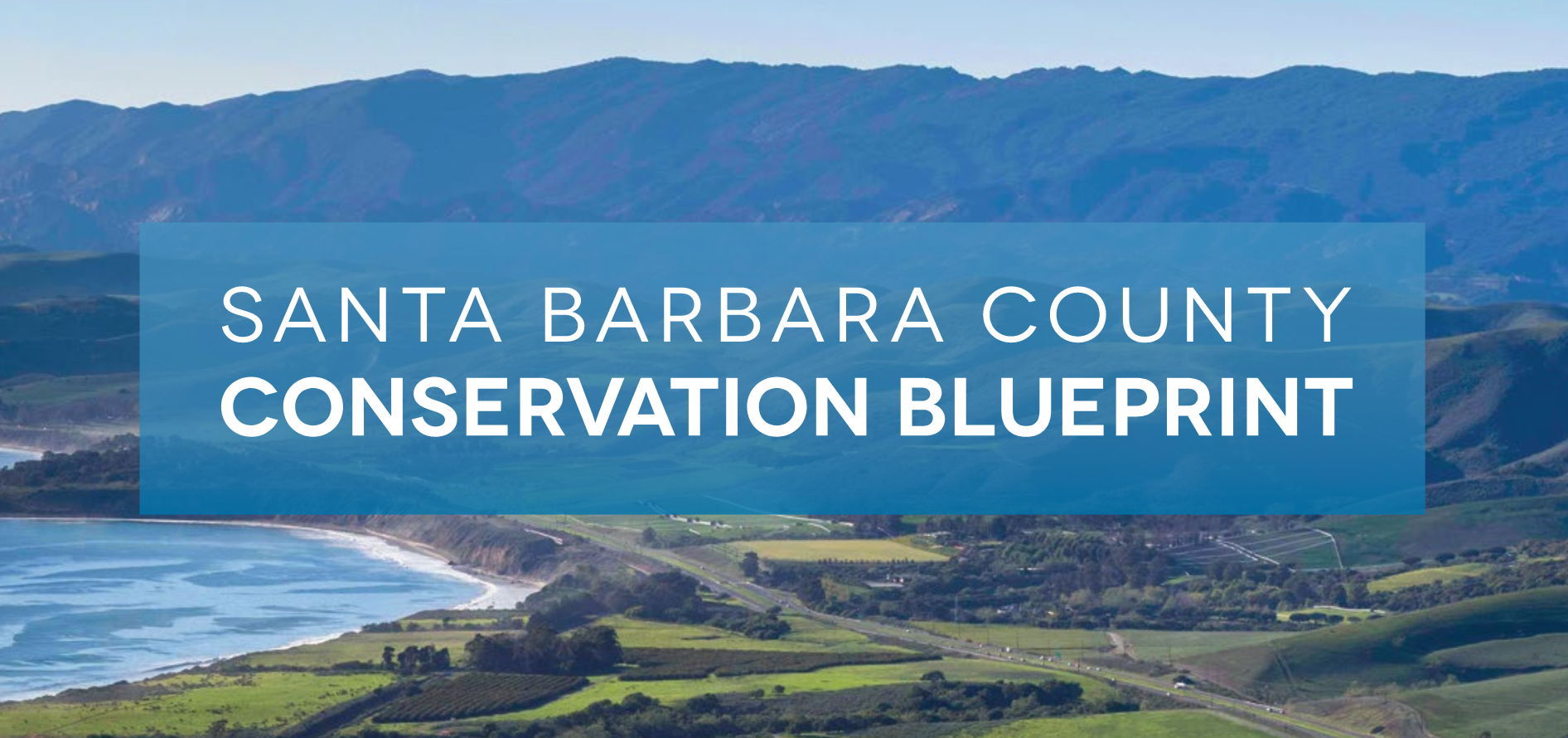 Conservation Blueprint cover with text