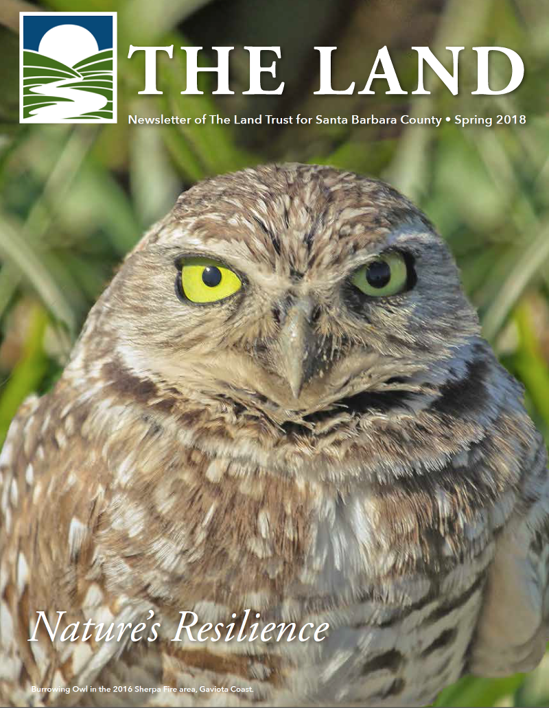 Land Trust Spring 2018 Newsletter Coverx