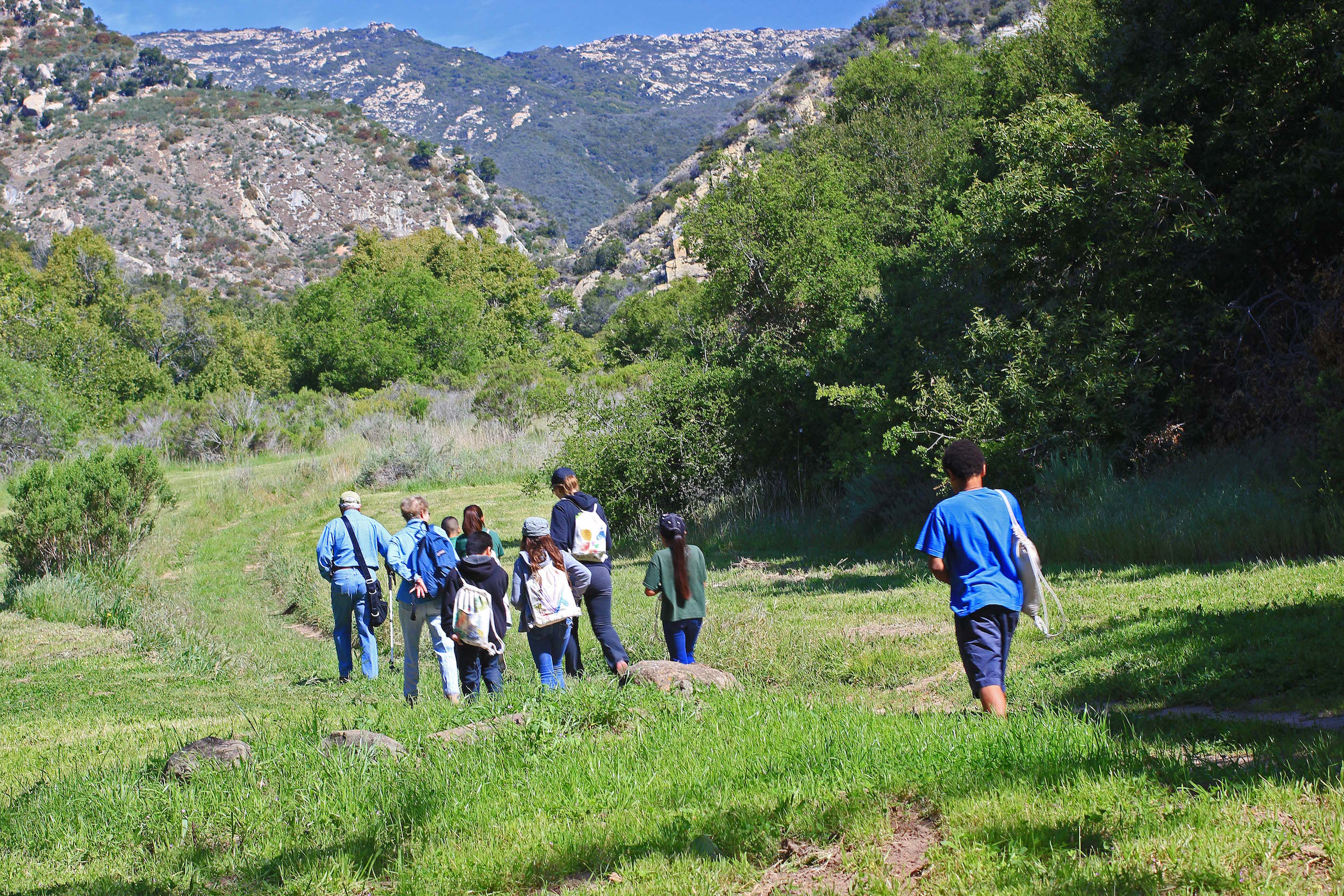 Arroyo Hondo hike with kids x Sally Isaacson