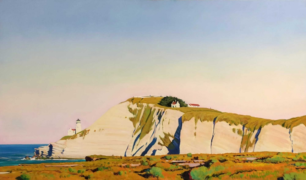 Michael Drury Spring Morning At Point Conception