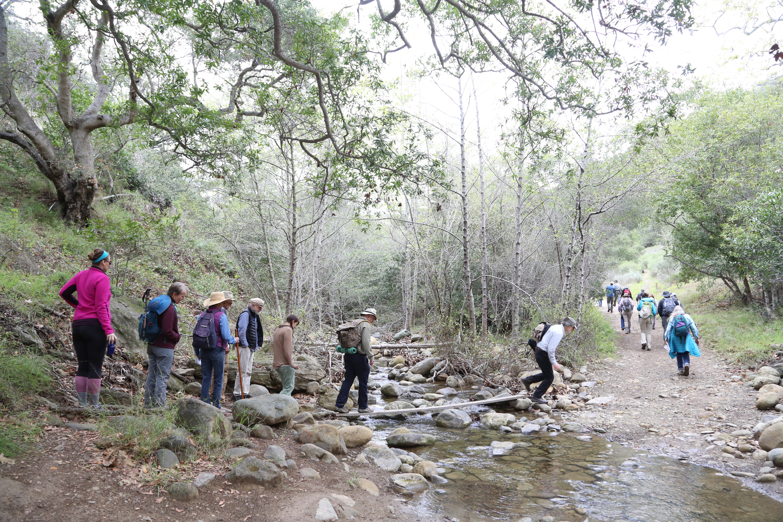 creek crossing at AHP